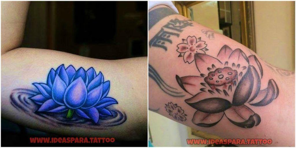 Tatuajes Flor De Loto Los Mejores Diseños De Tatuajes Para Hombre