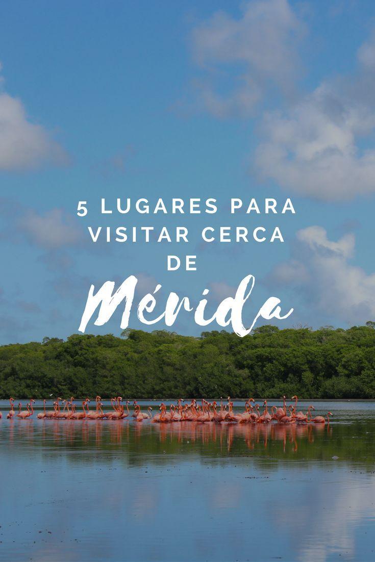5 lugares para visitar cerca de Mérida