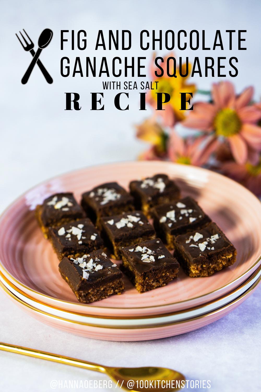 Fig And Chocolate Ganache Squares Recept Recipes Healthy Kitchen Sea Salt Recipes