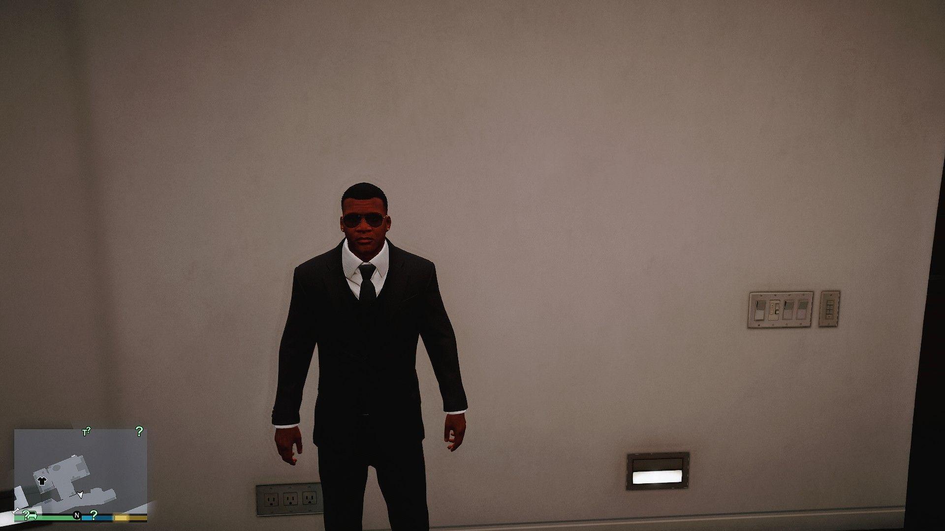 Men in Black Franklin #GrandTheftAutoV #GTAV #GTA5 #GrandTheftAuto #GTA #GTAOnline #GrandTheftAuto5 #PS4 #games