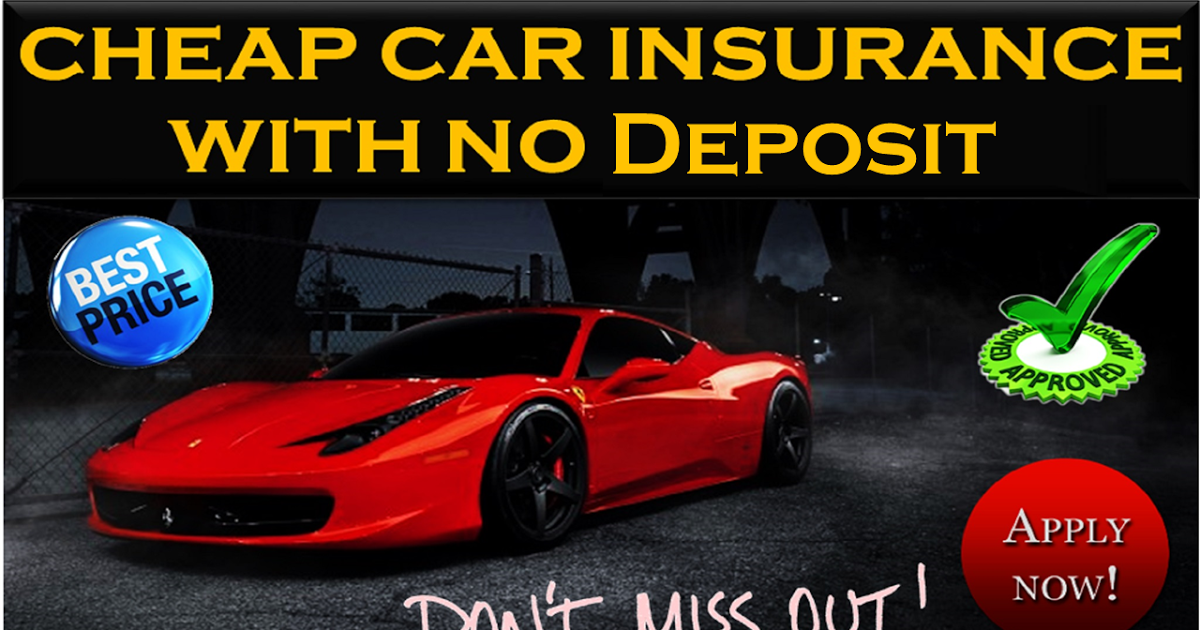 Non Owner Car Insurance Quote Extraordinary Non Owner Car Insurance With No Deposit Get Monthly Rates Online
