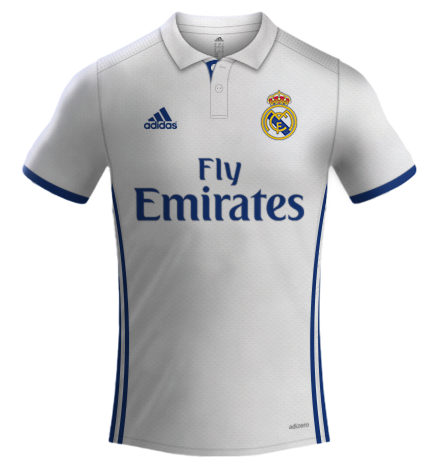 REAL MADRID ADIDAS 2016 2017  3b60ce61f0343