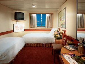 Carnival Fantasy Staterooms Pictures Of Suites Oceanview Interior Room With Balcony Outside