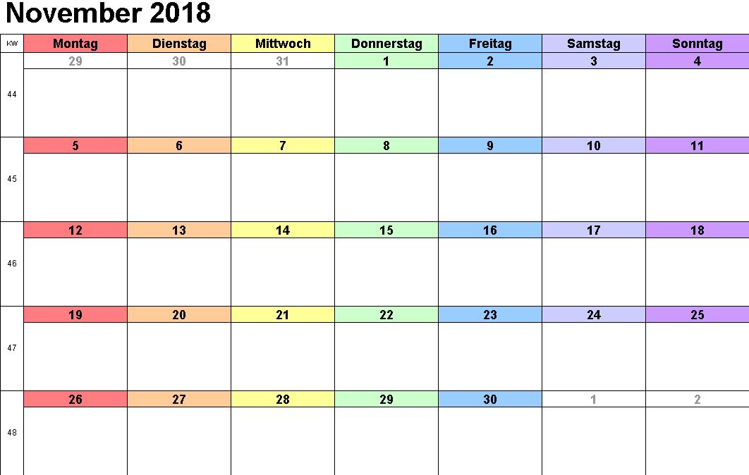 gratis kalender nov dec 2019