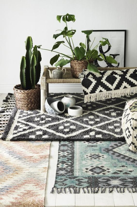 I Layering Rugs Has Been One The Most Popular Home Decor Trends In 2017  Hereu0027s Some Visual Inspiration To Help You Transform Your Room