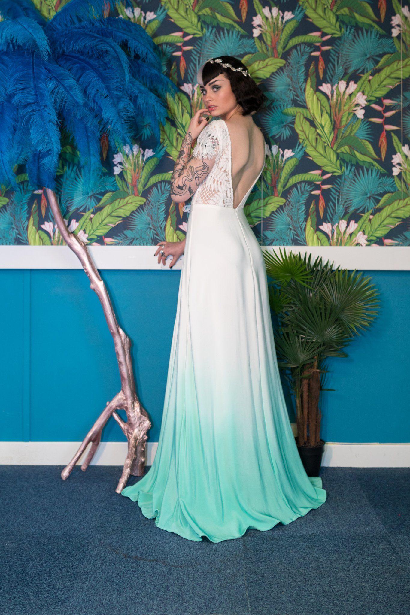 Pin by Lauren Mirelli on wedding dresses   Pinterest   Dip dye ...