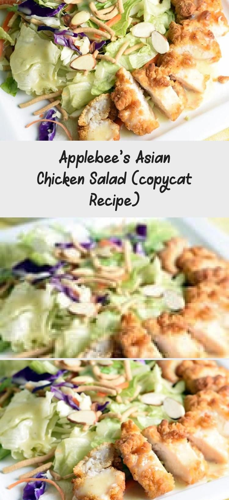 Applebee's Asian Chicken Salad (copycat Recipe) Now you can make the ever-popular Applebee's Asian Chicken Salad at home with this copycat recipe. Save money, but with the same delicious results!