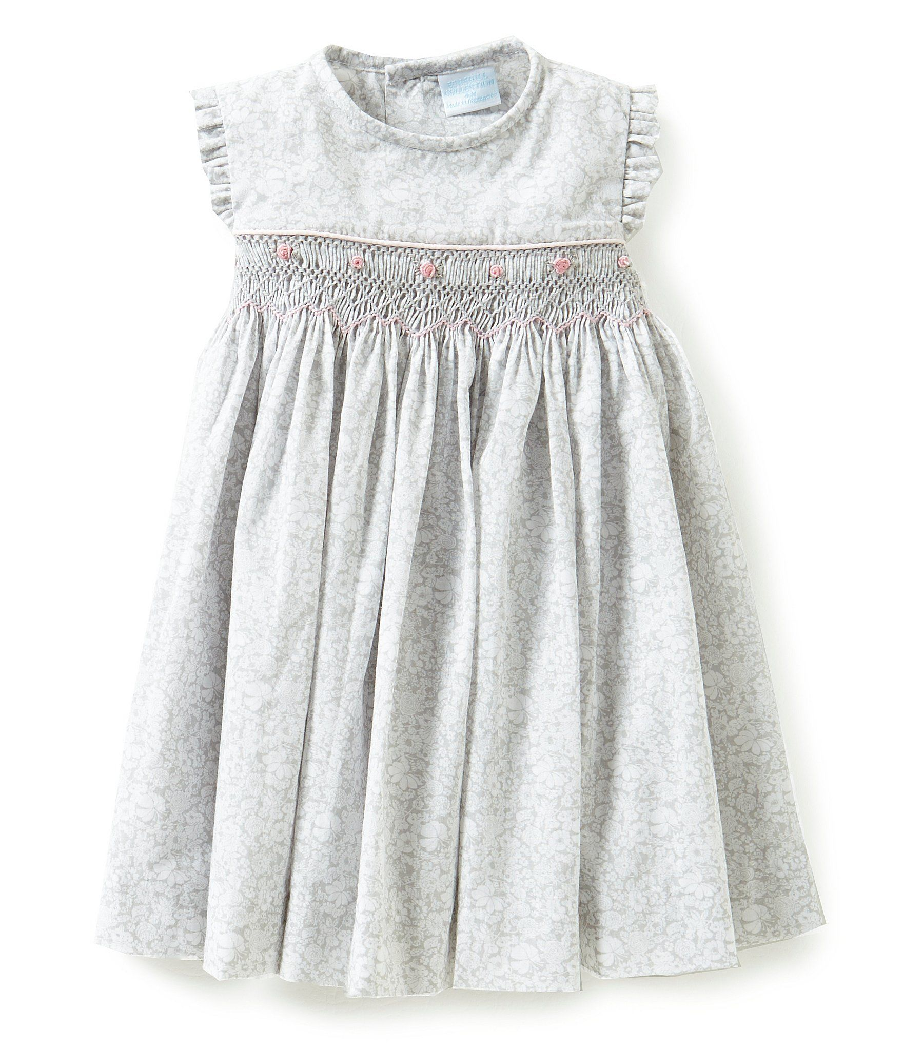 Shop for Edgehill Collection Baby Girls 3 24 Months Smocked Dress at