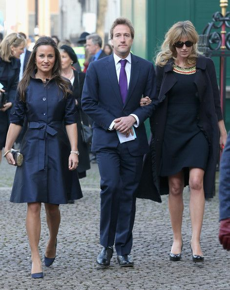 Pippa Middleton Photos: Memorial Service Held for Sir David Frost