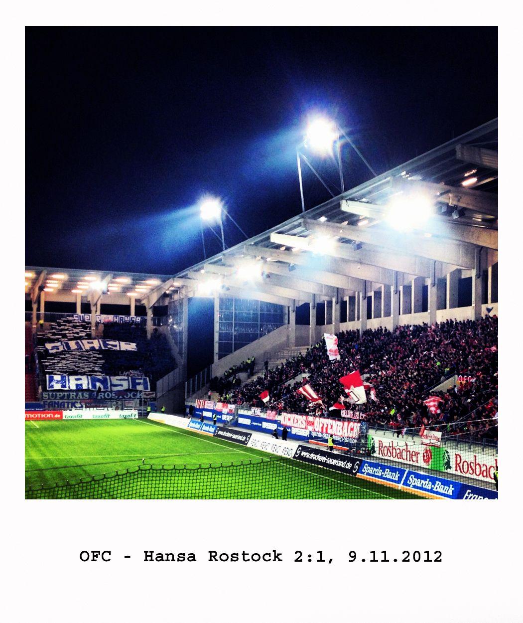 Ofc Hansa Rostock Kickers Offenbach Ofc Rostock Soccer Field Ofc
