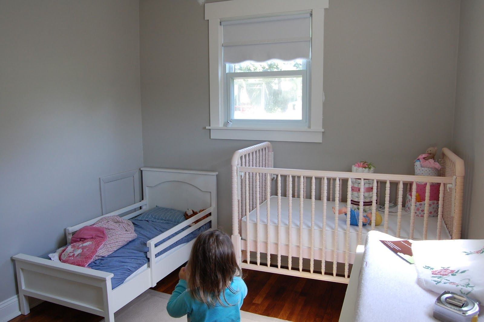 shared baby toddler room ideas baby pinterest
