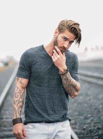 25 stilvolle Mann Frisur Ideen, die Sie ausprobieren müssen #stylishmen