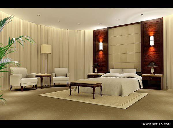 Genial Alluring Bedroom 3D Design Of Comfort Bedroom 3d Design Model Download 3d  Model Crazy 3ds Max
