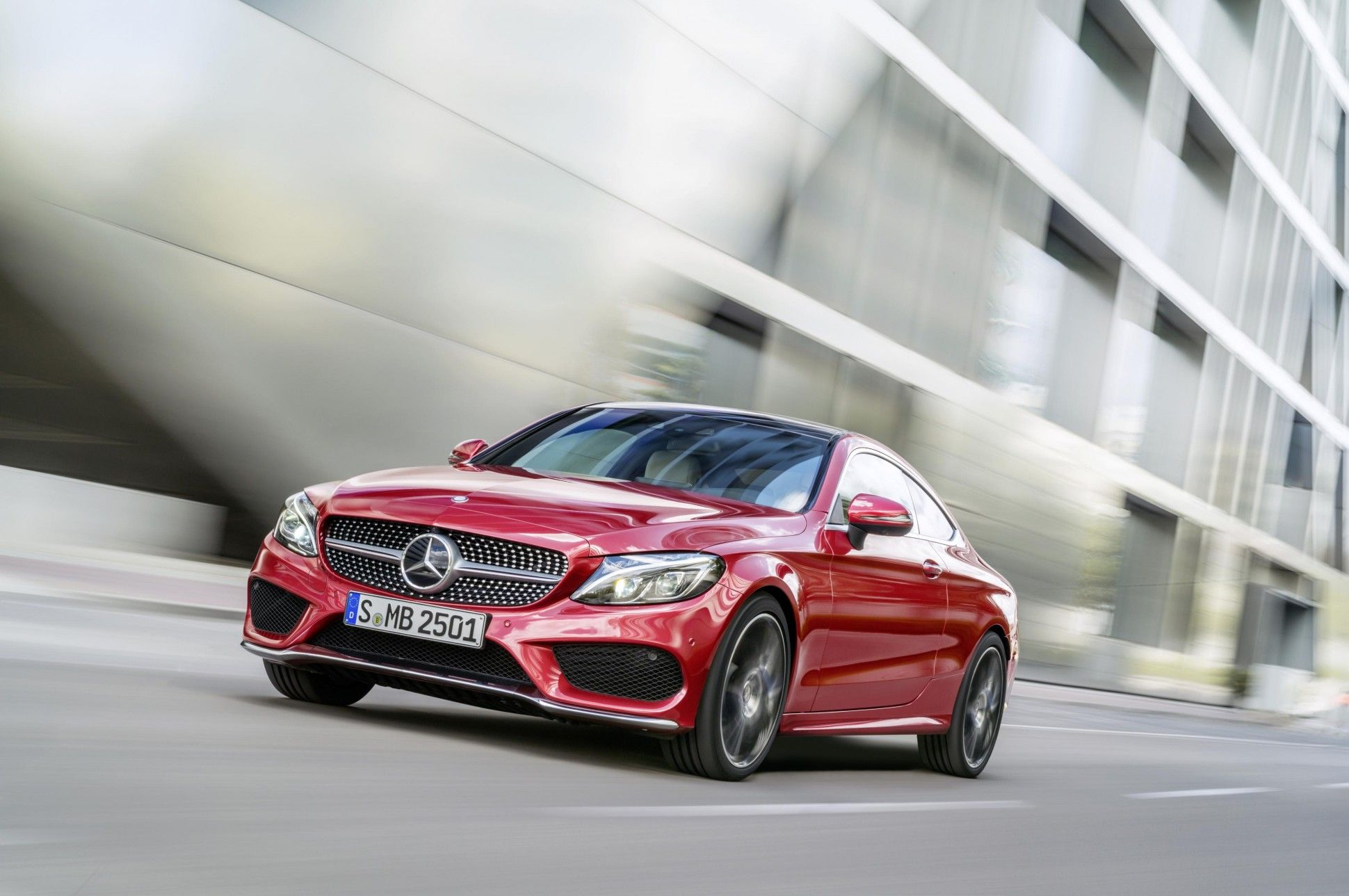 Mercedes Benz New C Class Coupe Will Challenge Bmw 4 Series