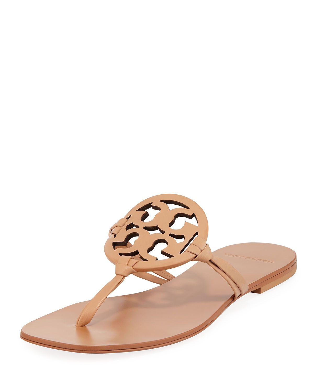 6864eeb89321 Miller Square-Toe Flat Slide Sandals