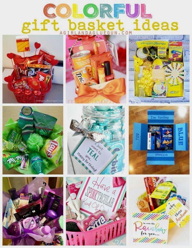 82 genius school ideas in 2020 themed gift baskets