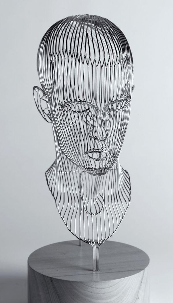 Stainless Steel #sculpture by #sculptor Martin Debenham titled ...