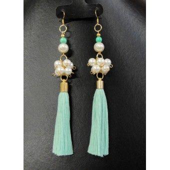 diseño de calidad 18040 f897c Aretes de Moda con Perlas y Motitas | anillos | Aretes ...