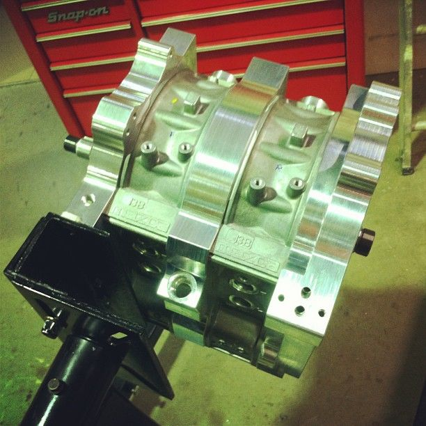 13b Engine: Billet Rotary Engine 13b
