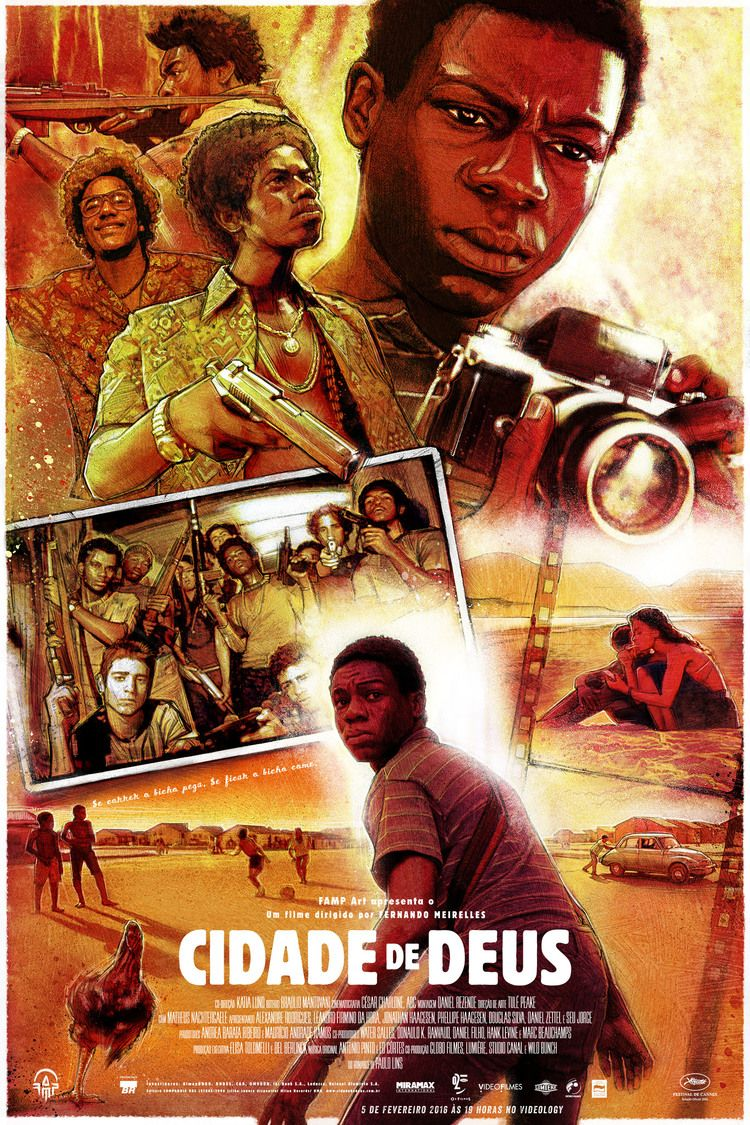City Of God By Paul Shipper City Of God Print Artist Movie Posters