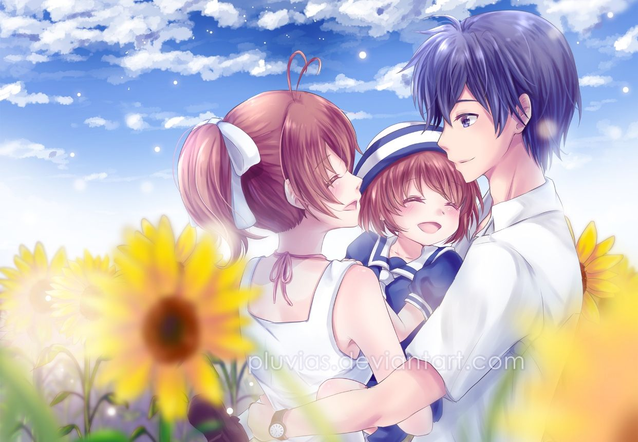 Pin by Animetale on couples Clannad