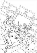 More X-Men coloring sheets!