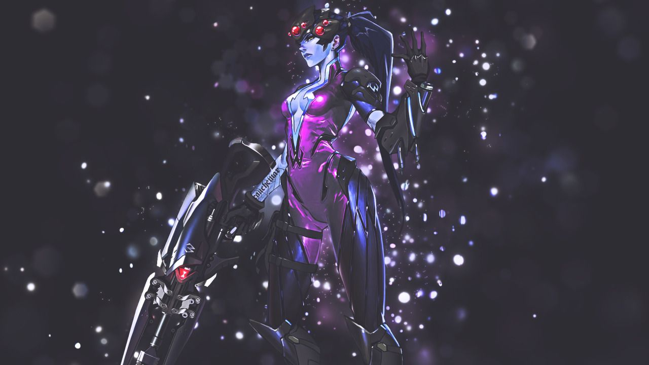 Overwatch Widowmaker HD Wallpaper 1920x1080