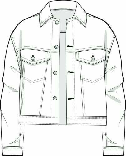 demin jacket fashion sketch cads pinterest demin jacket