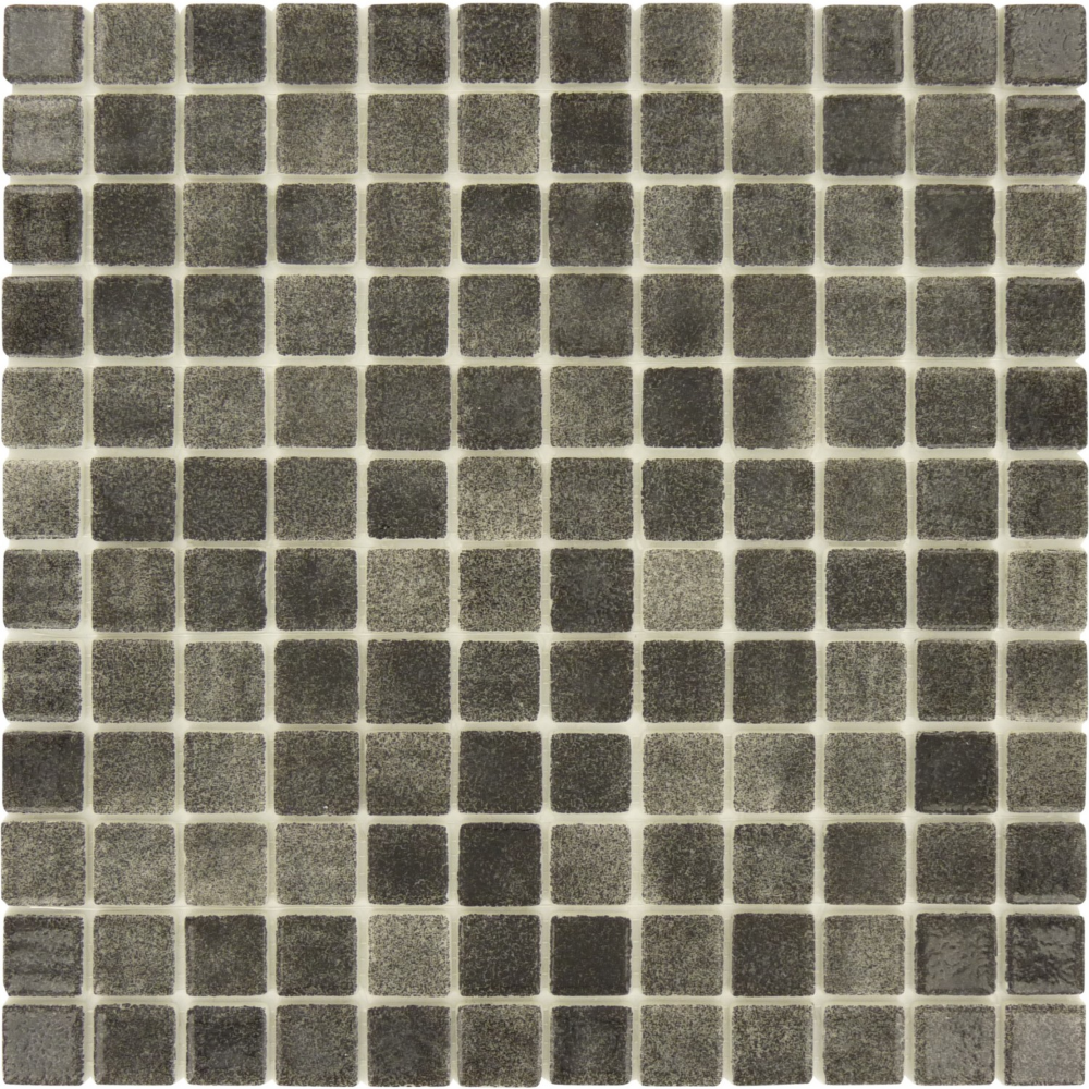 100 Recycled 1 X 1 Grey Glass Square Tile Glossy Lag052 Square Tile Glass Tile Grey Glass
