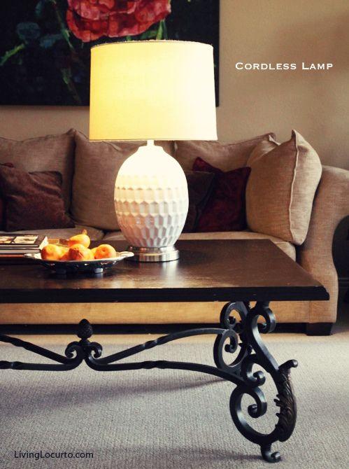 Gentil Cordless Lamp By Modern Lantern. Put It Anywhere! So Fun.