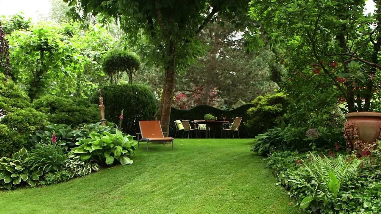 Moderne Gartengestaltung Mit Pflanzen Youtube Avec Gartengestaltung