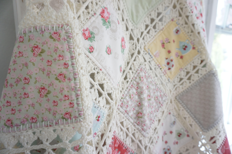 High Tea Crochet Quilt Crochetting Projects Crochet