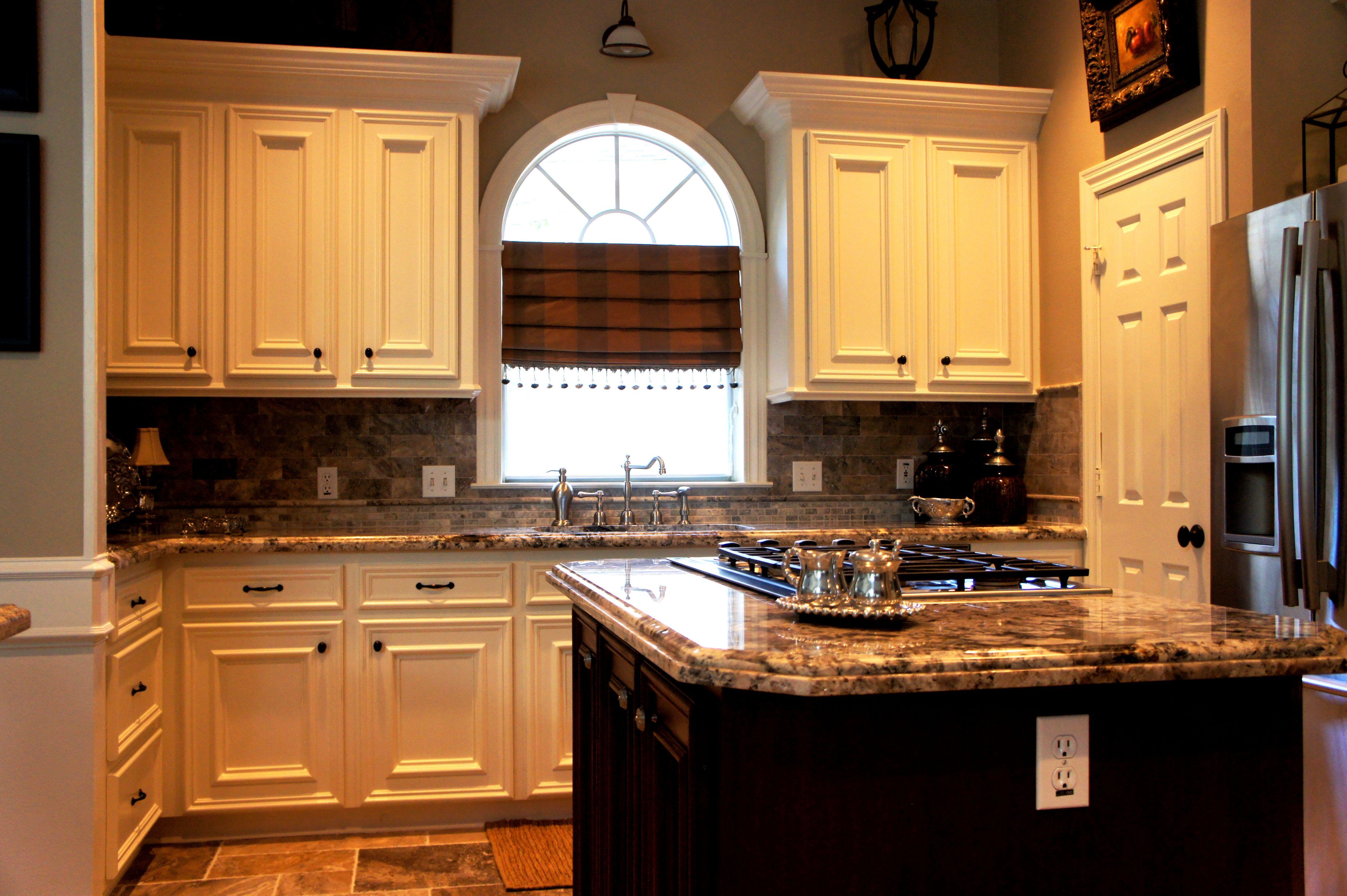 Complete kichten remodel custom cabinets granite for Cheap kitchen cabinets in houston