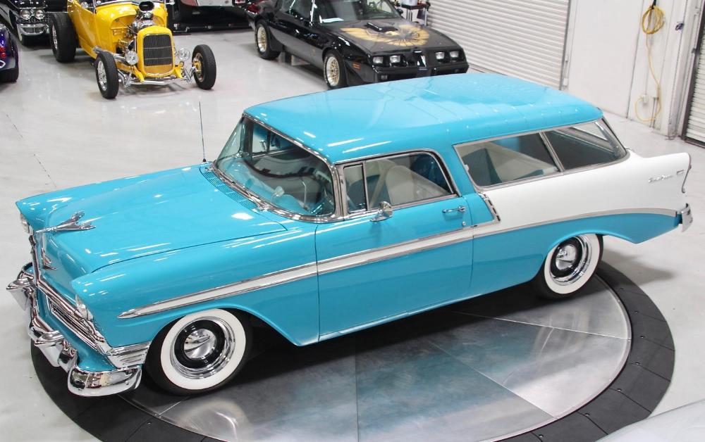 383 Powered 1956 Chevrolet Bel Air Nomad En 2020 Chevrolet Bel