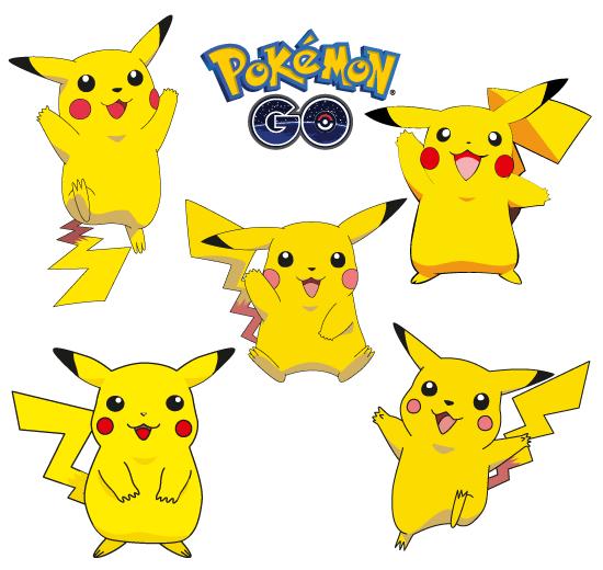 Pikachu 5 Poses Pokémon Go Vector Fiesta De Cumpleaños Pokemon Cumpleaños De Pokemon Invitaciones De Pokemon