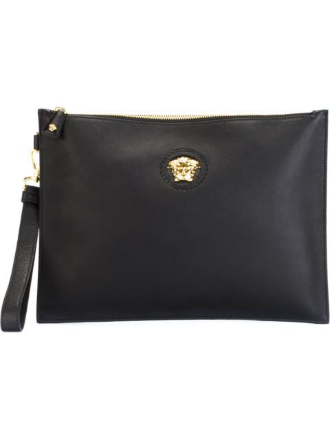 834719da1f57 VERSACE Medusa Clutch.  versace  bags  shoulder bags  clutch  leather  hand  bags