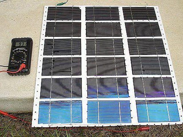 How To Make Homemade Solar Panels Hunker Diy Solar Panel Solar Panels Homemade Solar Panels