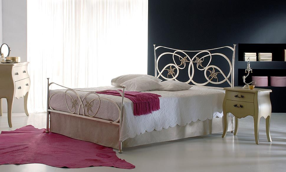 Handmade Iron Bedrooms from Greece  Model: Garden