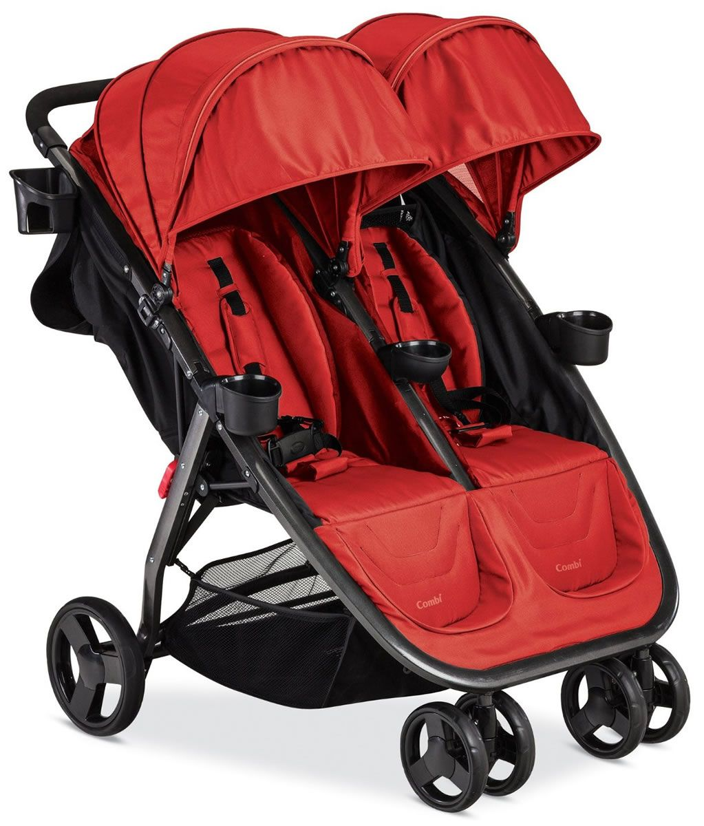 Combi Fold N Go Double Stroller Salsa Double stroller