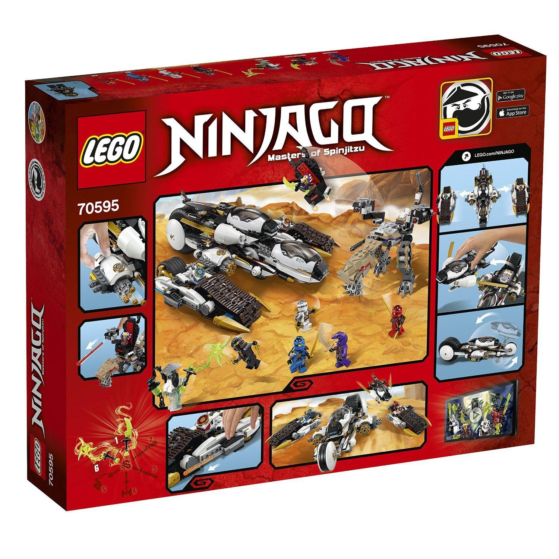 Lego Ninjago 70595 Ultra Tarnkappen Fahrzeug Amazon De Spielzeug