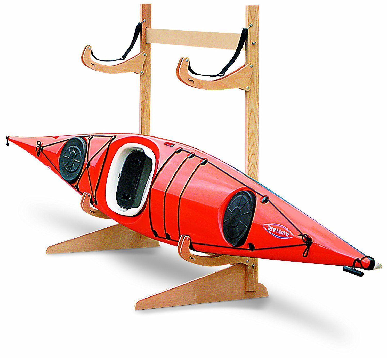 Amazon.com  Talic Cayuga - 2 Boat Freestanding Kayak Storage Rack  Indoor Kayak Storage Racks  Sports u0026 Outdoors  sc 1 st  Pinterest & Amazon.com : Talic Cayuga - 2 Boat Freestanding Kayak Storage Rack ...
