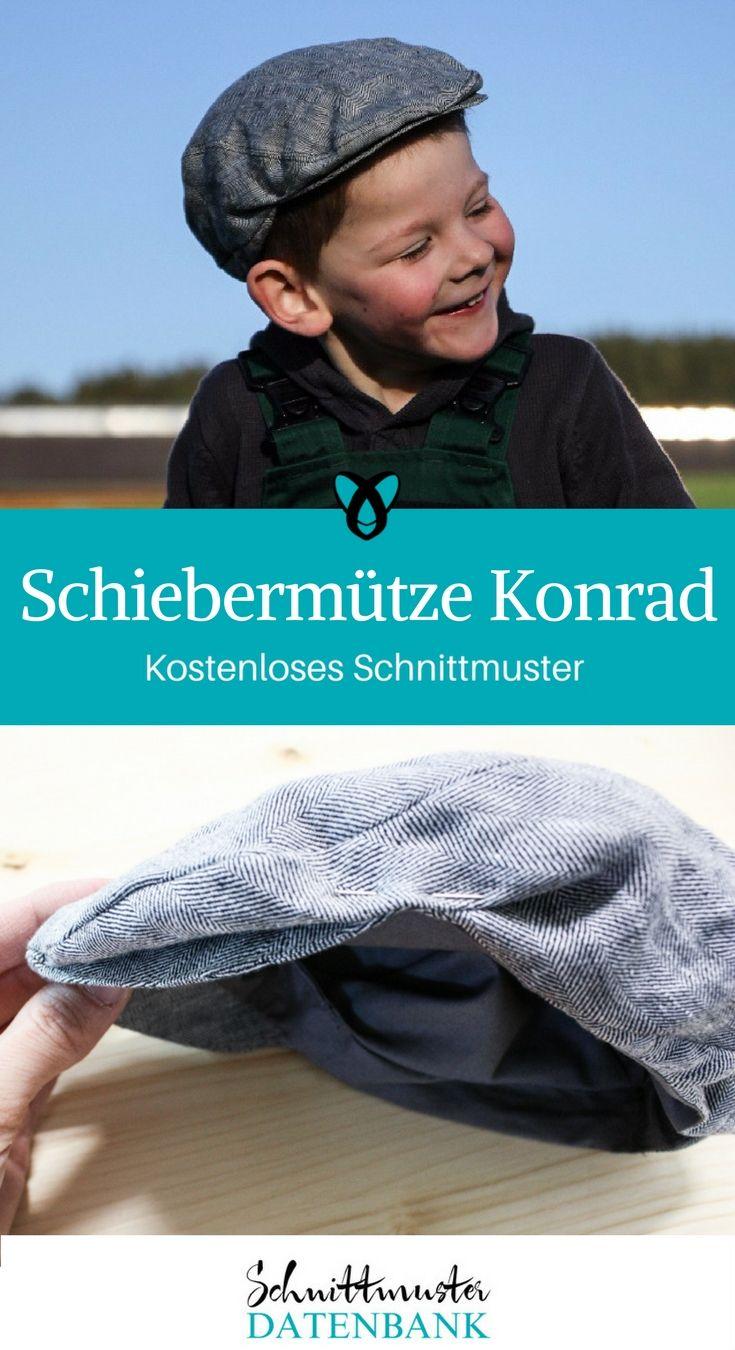 Schiebermütze Konrad 5/5 (2) | Schiebermütze, Mädels und Jungs