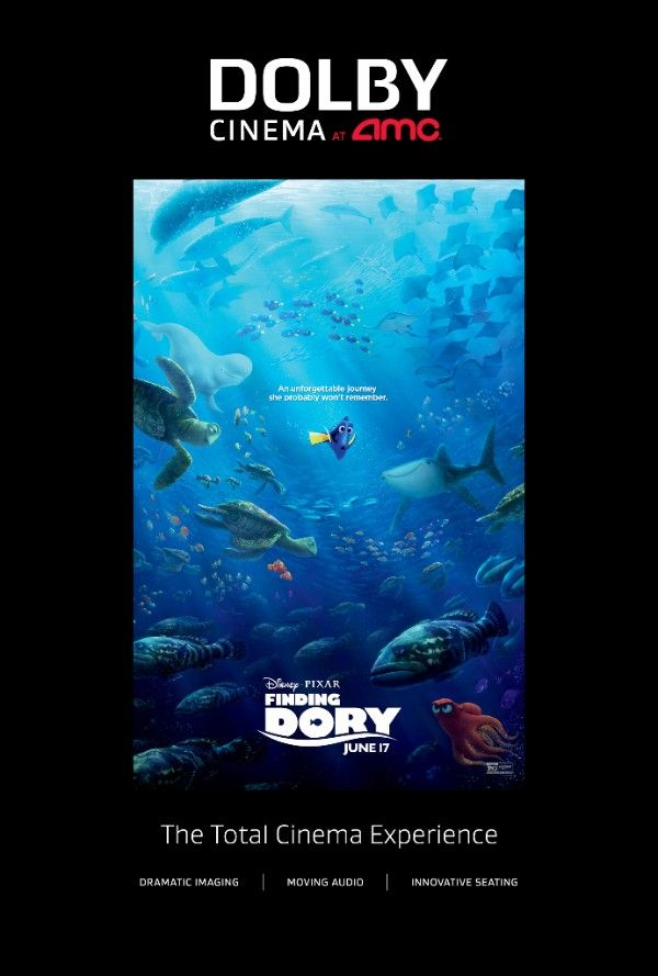 Enter to Win a Family 4 Pack of Tickets to See Finding Dory in #DolbyCinema at AMC Prime in Mesa, AZ! (2 win!) #shareAMC #FindingDory
