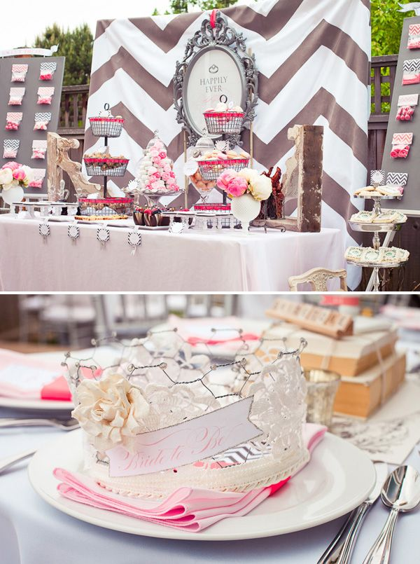 vintage bridal shower theme ideas this is an interesting take on a vintage modern bridal shower i like