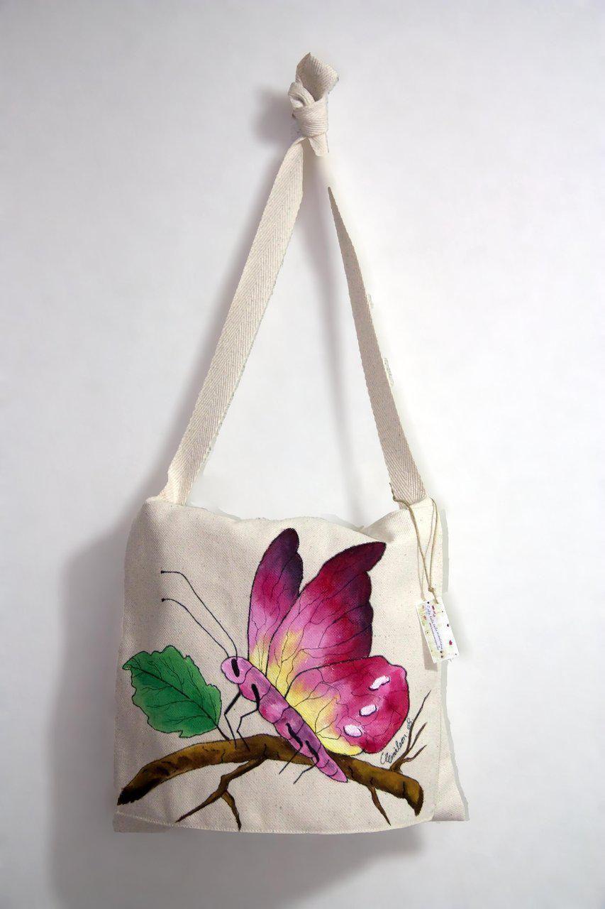 Bolsos de tela pintados a mano buscar con google - Bolsas para pintar ...