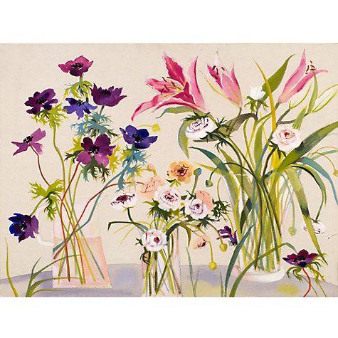 Buy Annabel Fairax - Rununculus and Lilies Online at johnlewis.com
