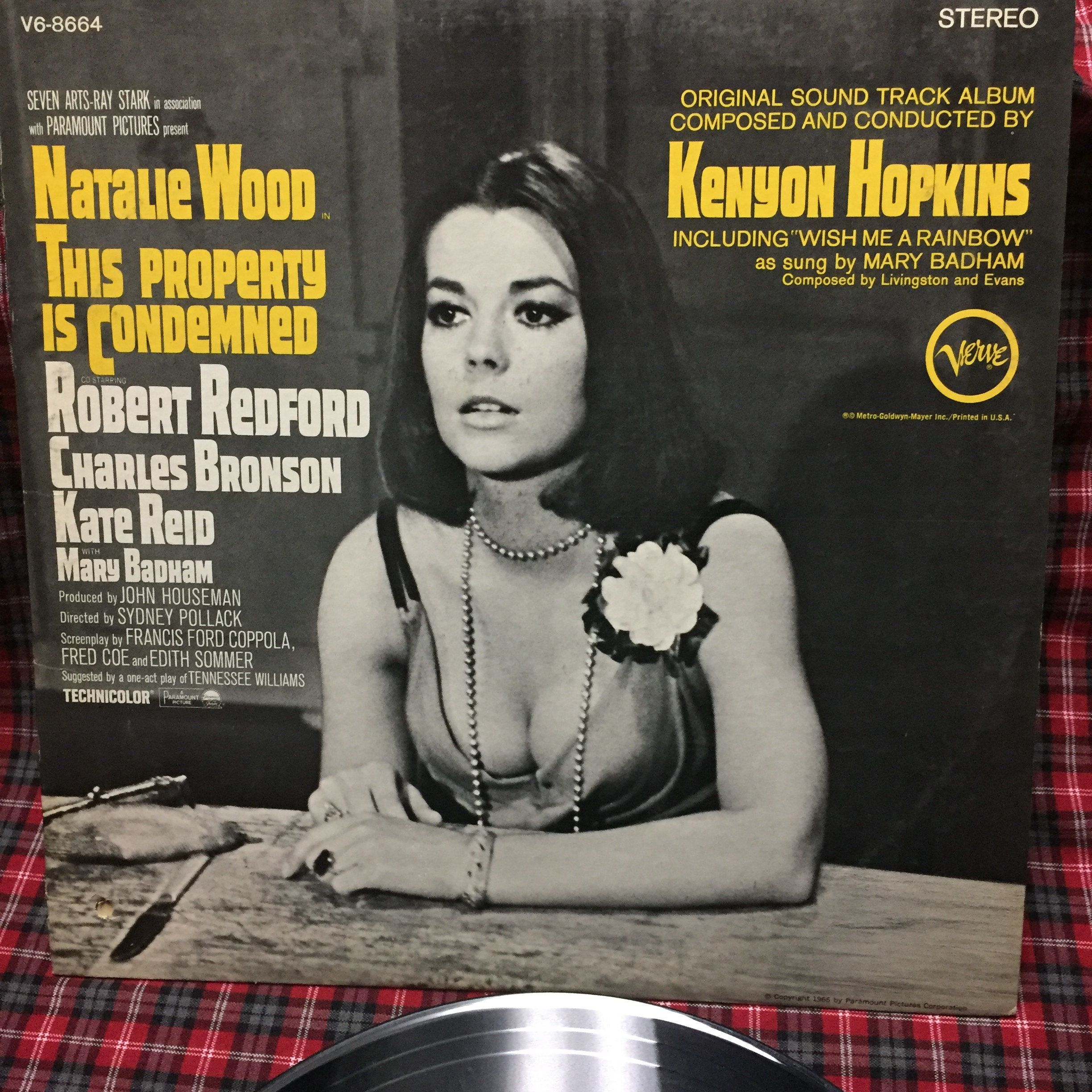 Natalie Wood This Property Is Condemned Vinyl Lp V6 8664 Original Sound Track Recording By Jlsantiques On Etsy Natalie Wood Robert Redford Movies Natalie