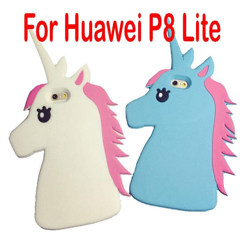 coque huawei p9 lite licorne 3d
