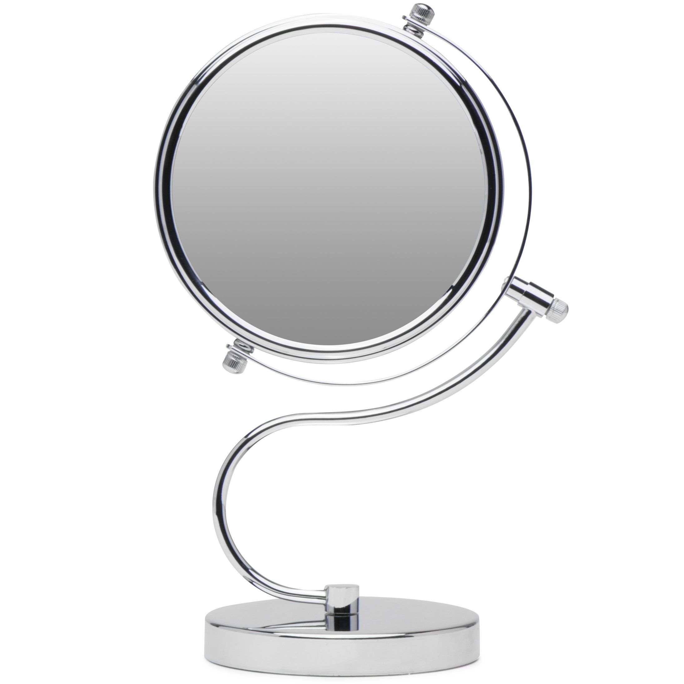Cute N Curvy DoubleSided Makeup Mirror w/1x 10x