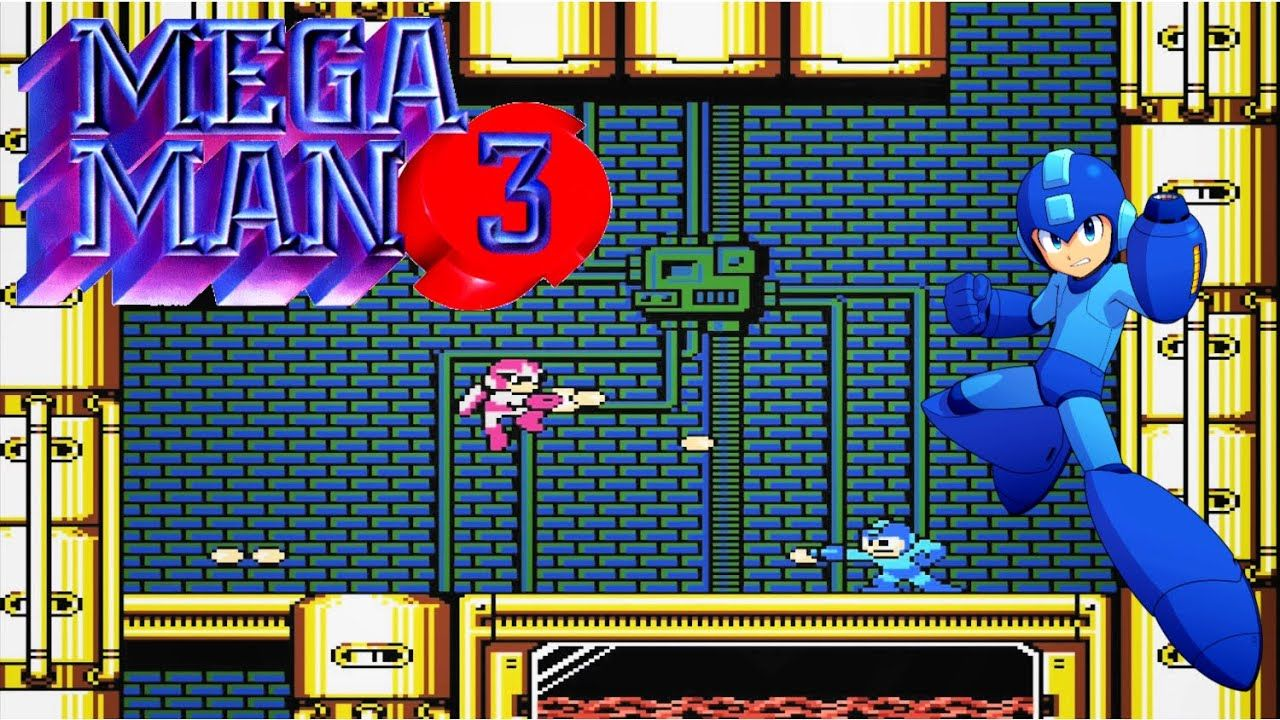 Mega Man 3 (1990) Retro gameplay Mega man 3, Mega man, Man